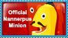 Nannerpus Minion Stamp by Annortha