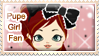 Pupe Girl Fan Stamp by Annortha