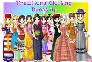 Traditional Clothing Dress Up by Annortha