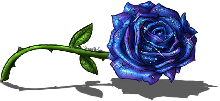 Similiar Blue Rose Drawing Keywords
