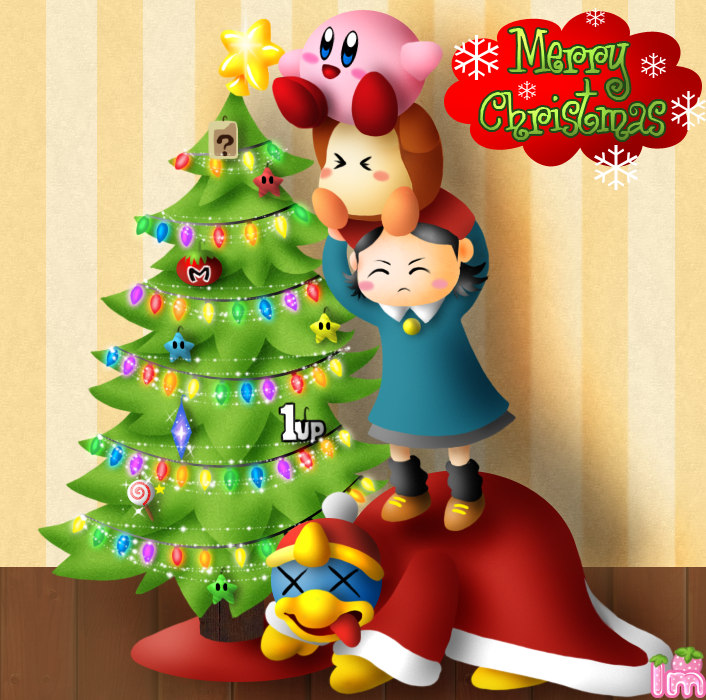 A Very Kirby Christmas by Annortha on DeviantArt