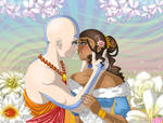 Aang and Katara: Beautiful Ceremony
