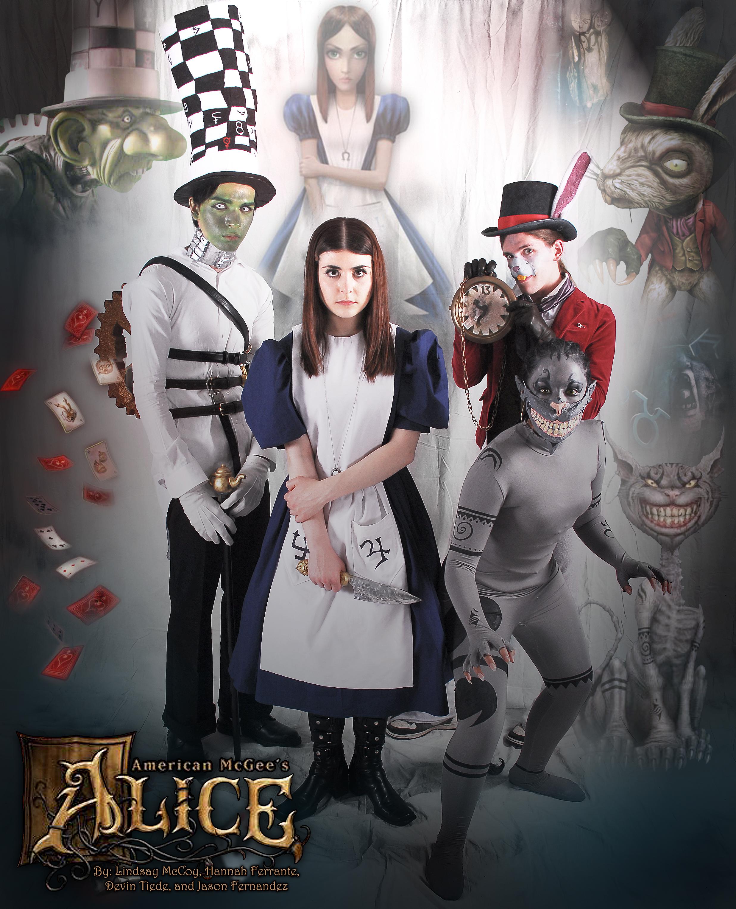 American McGee's Alice- Sakura-con 2011 by Annortha