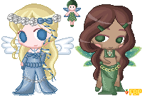 The Angel Fairy Sisters by Annortha