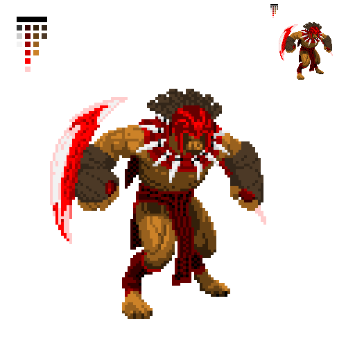 pixel art 128x128