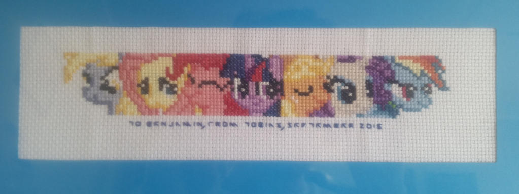 MLP Cross stitch by Pemachi