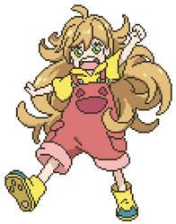 Tsumugi Inuzuka Pixelart