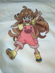 Tsumugi Inuzuka Cross stitch