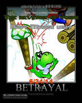 The revenge of yoshi by Bloody7851