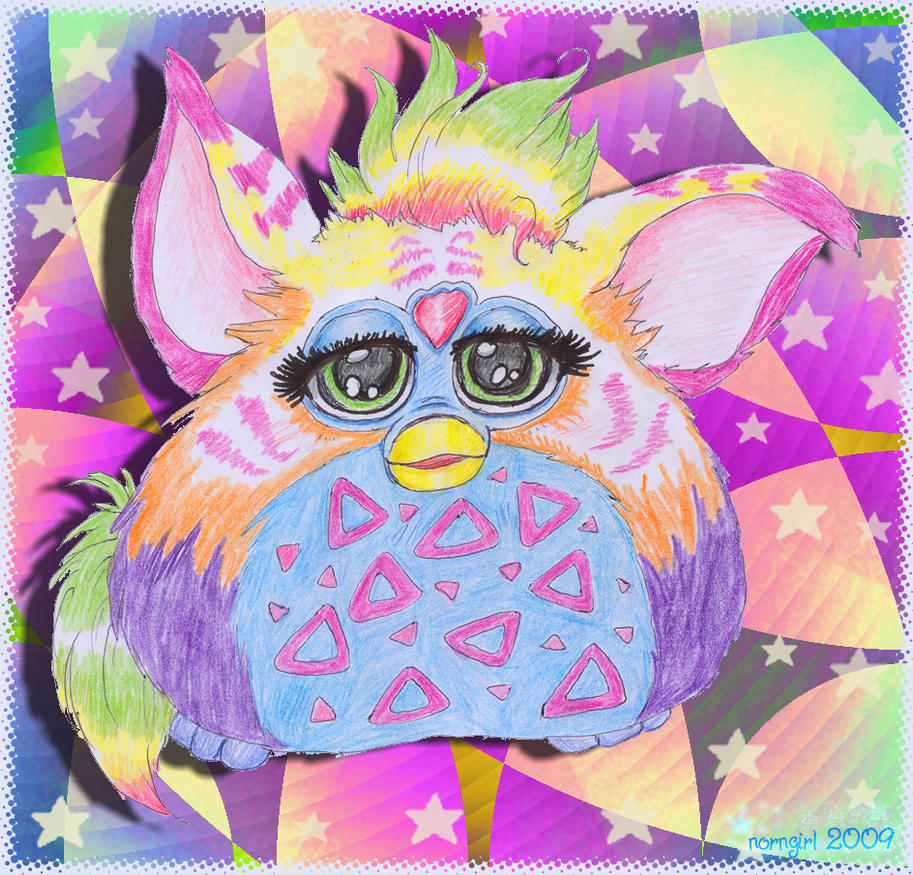 ::Colorfull Furby:: by norngirl