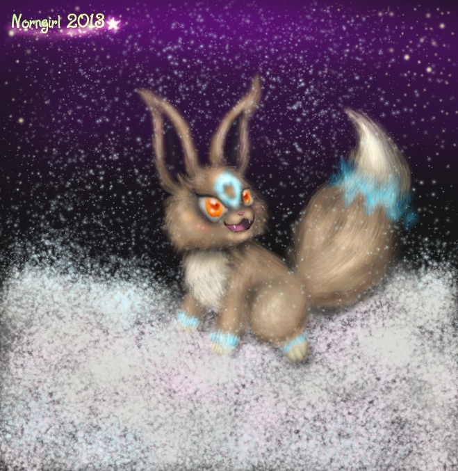 ::Luki's Winter Fun - XmasGift For Cattensu:: by norngirl
