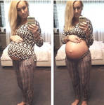Pregnant belly 5