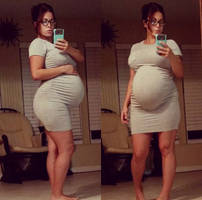 Pregnant belly 87