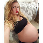 Pregnant belly 128