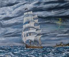 Queen Annes Revenge by John-Tansey