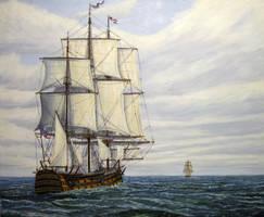 On To Trafalgar by John-Tansey