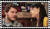 ParksnRec: Andy x April Stamp by alex-heberling