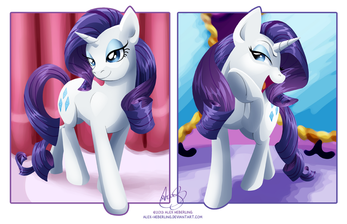 Dual Rarity [Commission] by alex-heberling