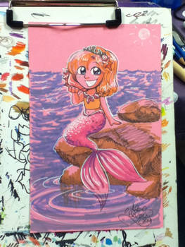 Cute Mermaid commission from SPACE 2014