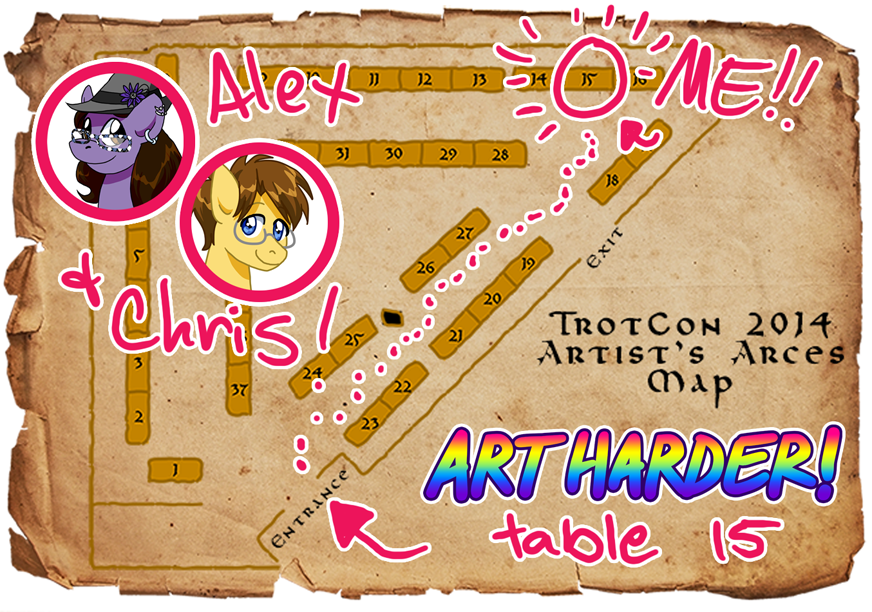 TrotCon 20114 map by alex-heberling