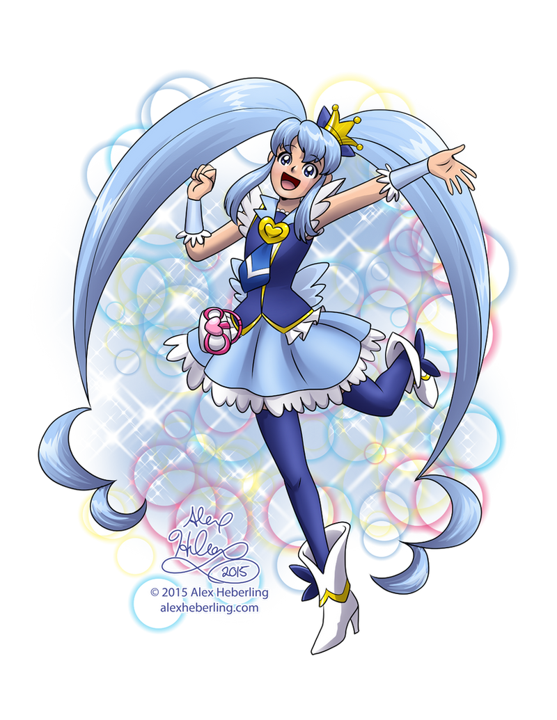 Cure Princess Commission by alex-heberling