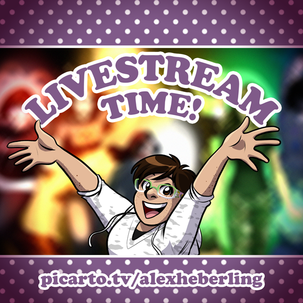 Livestream Banner Picarto by alex-heberling