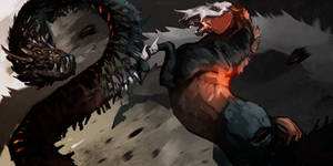 Battle by Araverni