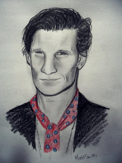Doctor Who [2] - Page 39 Matt_smith_by_nimrail-d5ak7yk