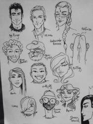 So many faces by Nimrail