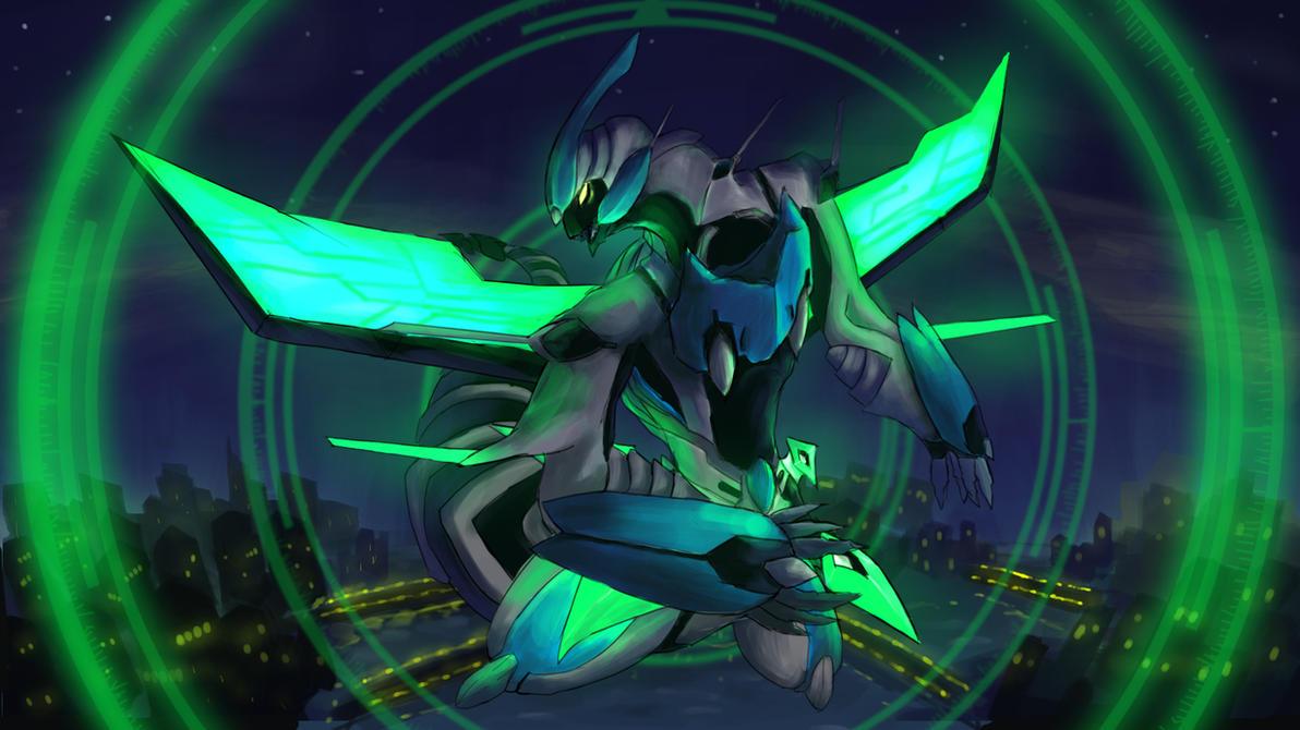 Clear Wing Synchro Dragon by nod323232