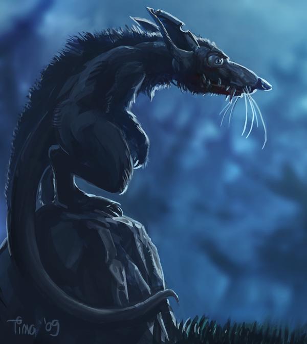 Hideous Saber-Tooth Rat by Vihola