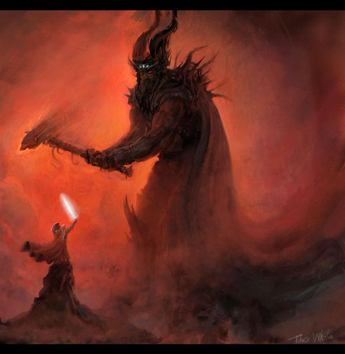 Melkor and Fingolfin