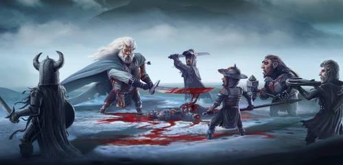 Battle in Snow by Vihola