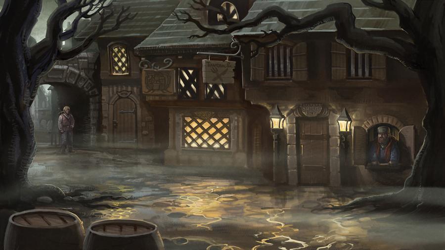 Misty Town by Vihola