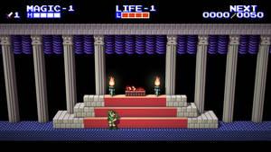Zelda II: Adventure of Link Voxel