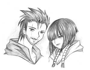 Commission_Couple Smile