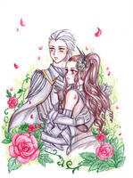 Commission_Leonor and Jerome by JBeanSV