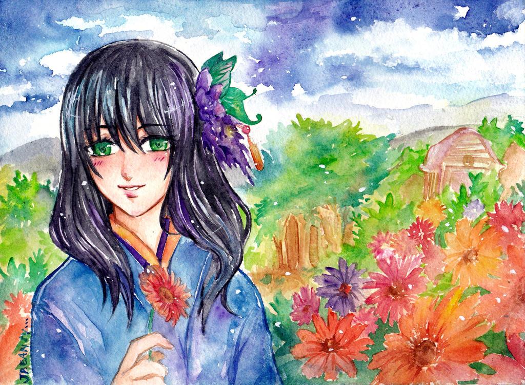 Okumatta : Aoi and Hana by JBeanSV