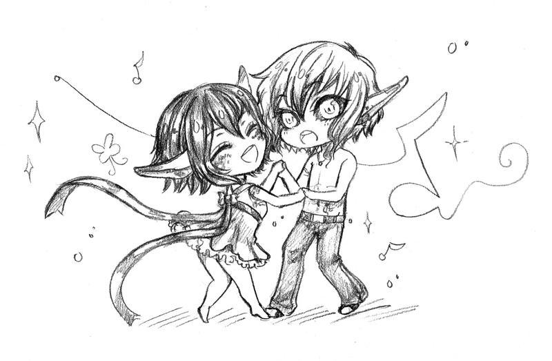 Com : Lets dance together~ by JBeanSV