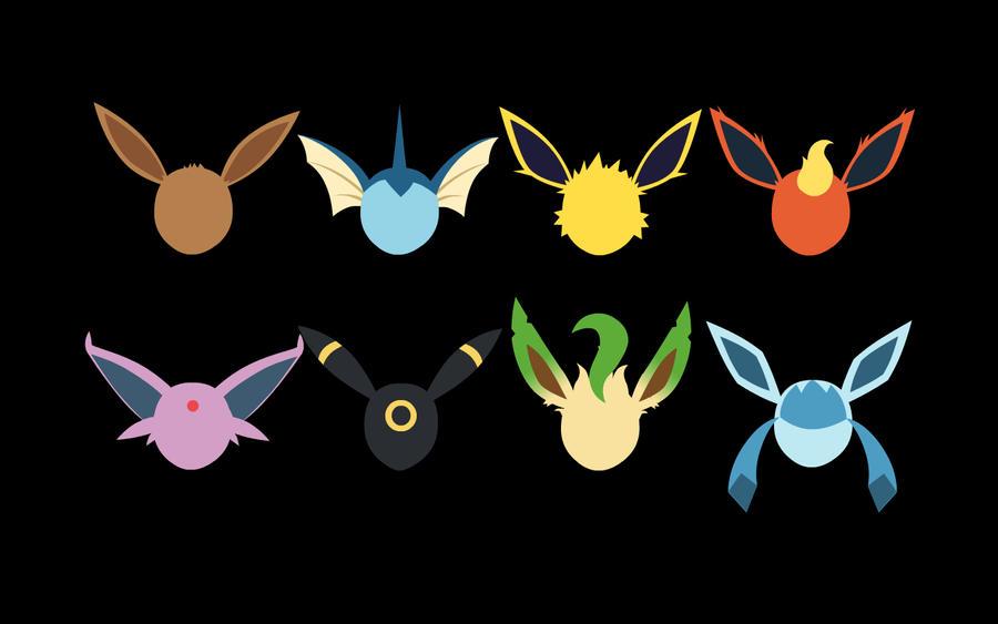 Every single pokemon picture every single pokemon wallpaper - Eeveelutions By Nachosammich On Deviantart