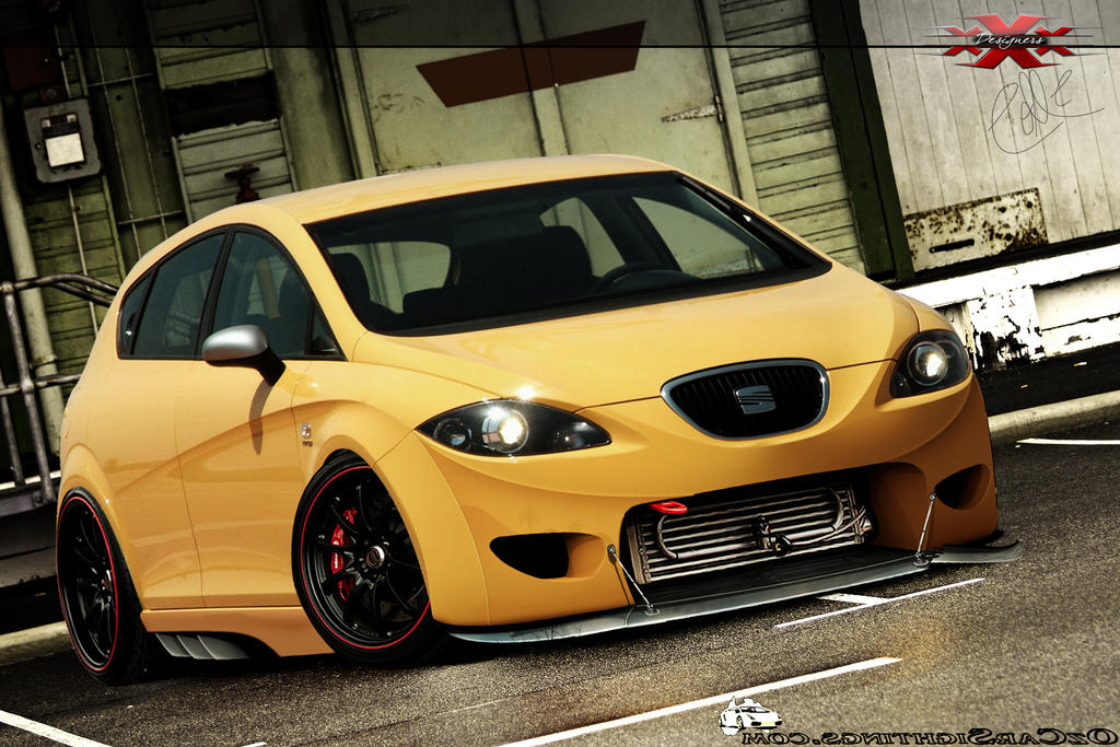 seat leon cupra sport by jhoncolle on deviantart. Black Bedroom Furniture Sets. Home Design Ideas