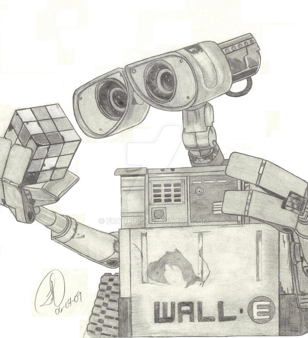 Walle by Franrie