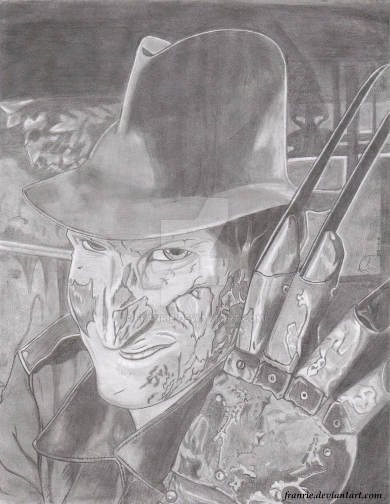 Freddy Krueger by Franrie