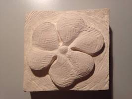 Flower sculpture #2