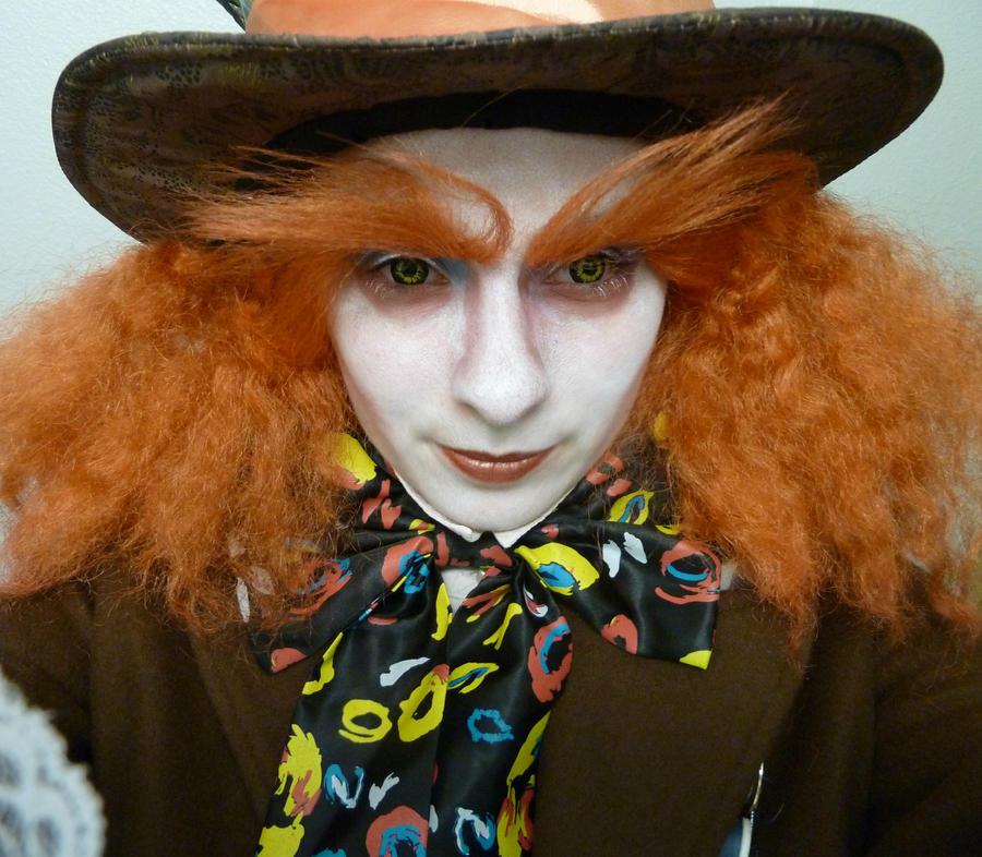 Mad Hatter Costume Makeup By Mutepoetess On Deviantart