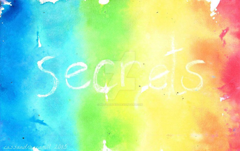 secrets by MutePoetess