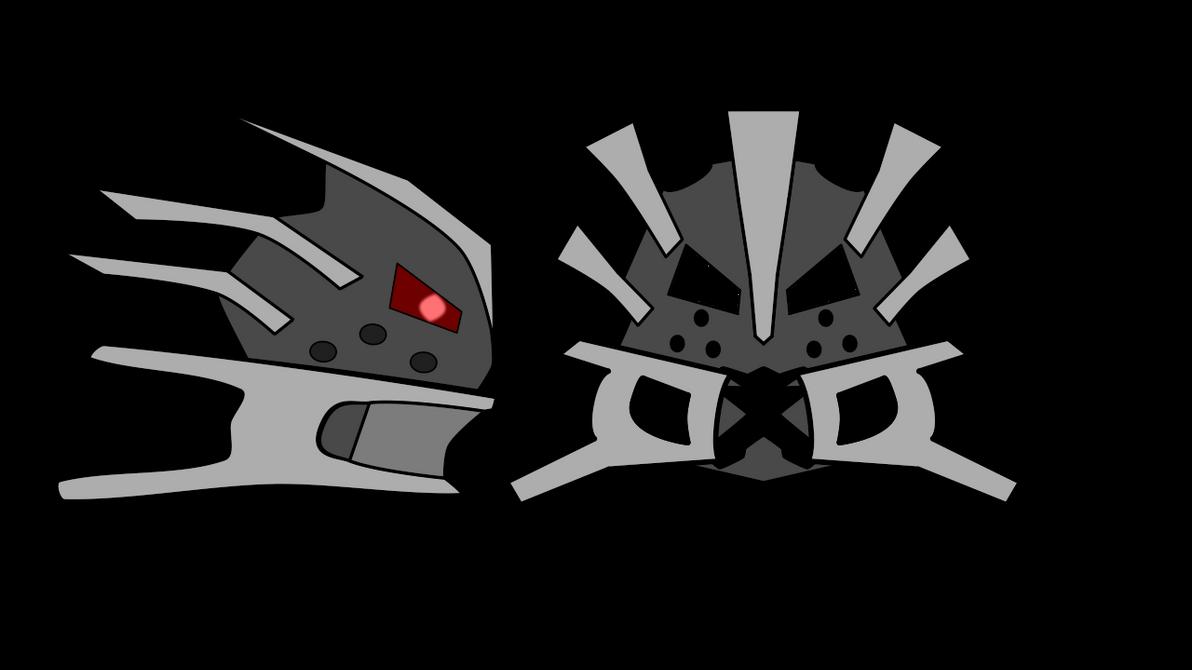 Dark709: Year One - Malice Borg's Mask Concept by MechaAshura20