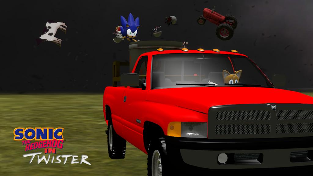 Sonic the Hedgehog in Twister (SFM) by MechaAshura20