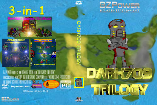 Dark709: Trilogy - fan-made DVD cover