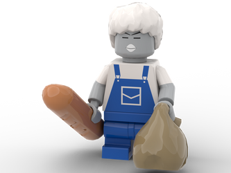 LEGO EarthBound - Porky Minch (Zombie)